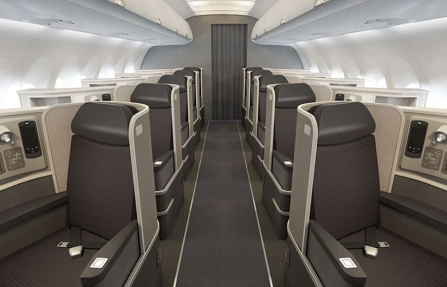American Airlines First class
