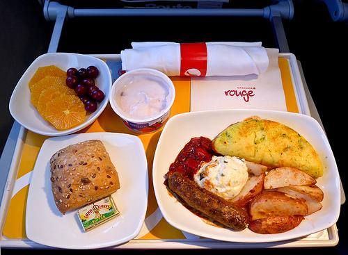 Air Canada food