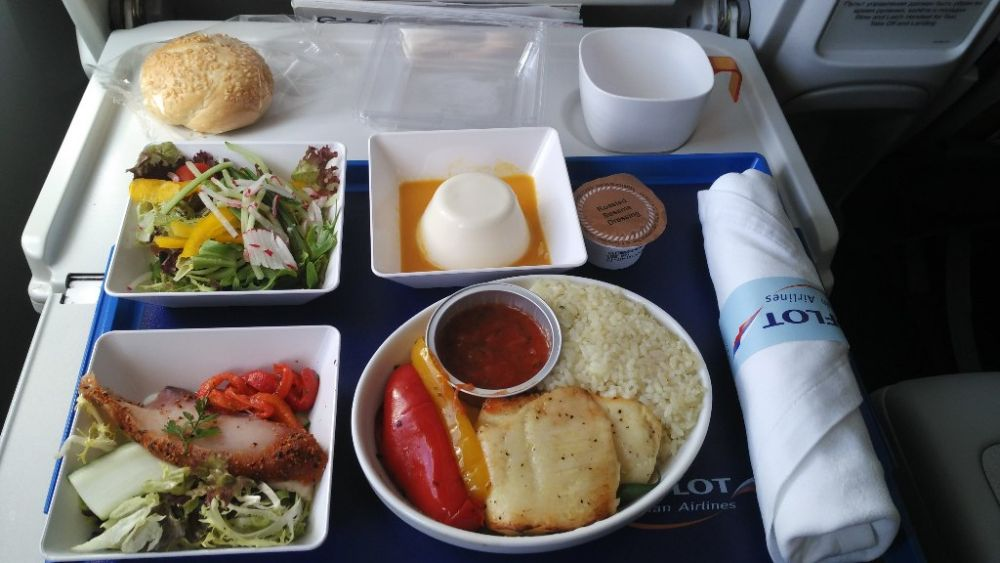 Aeroflot food and drinks
