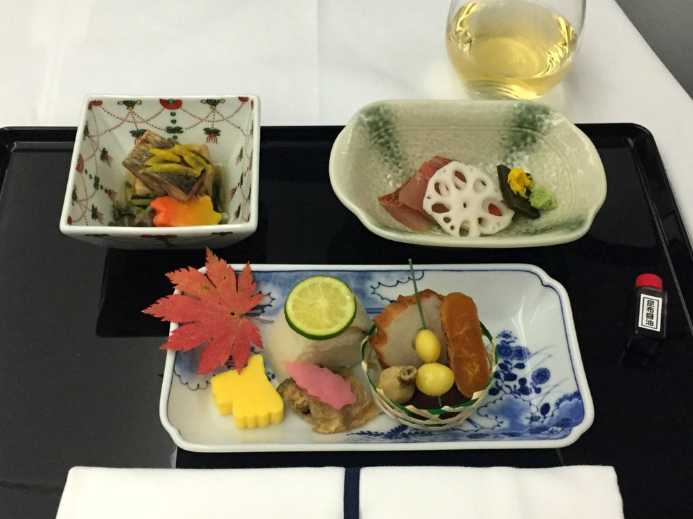 All Nippon Airways food and drinks