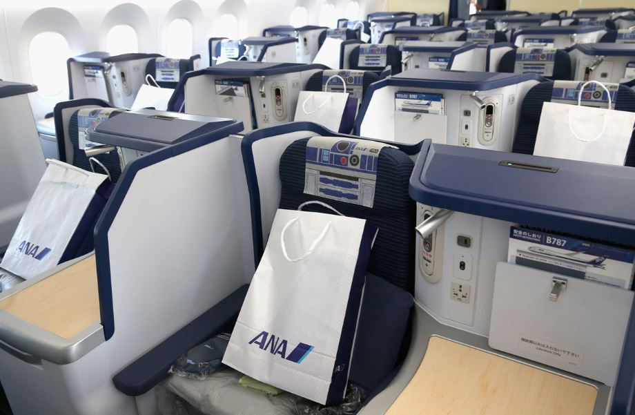 All Nippon Airways travel classes