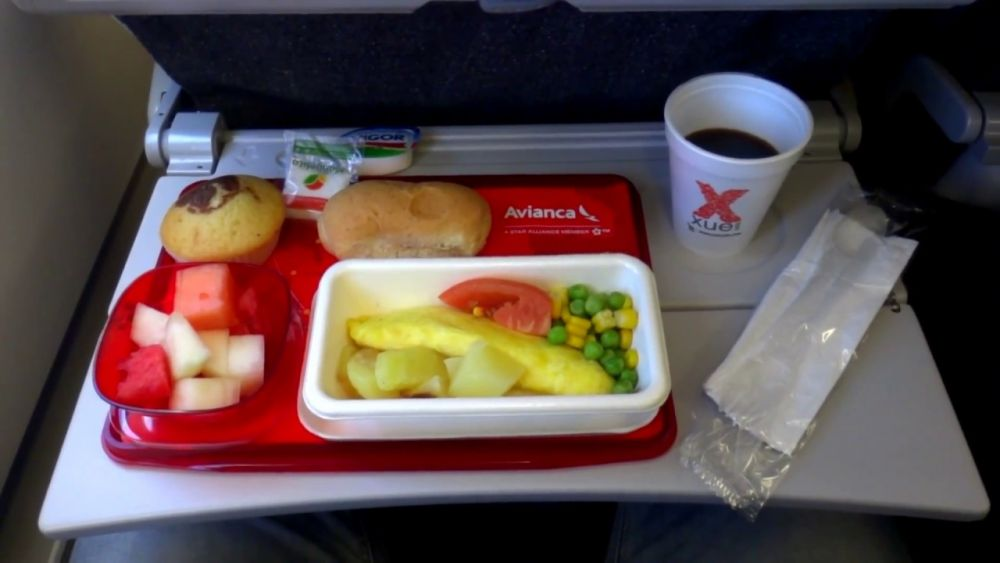 Avianca food and drinks