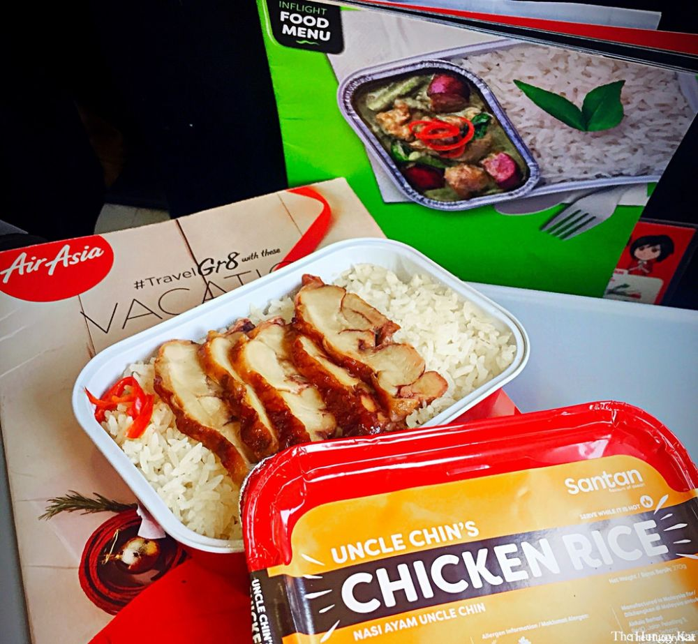 AirAsia food and drinks