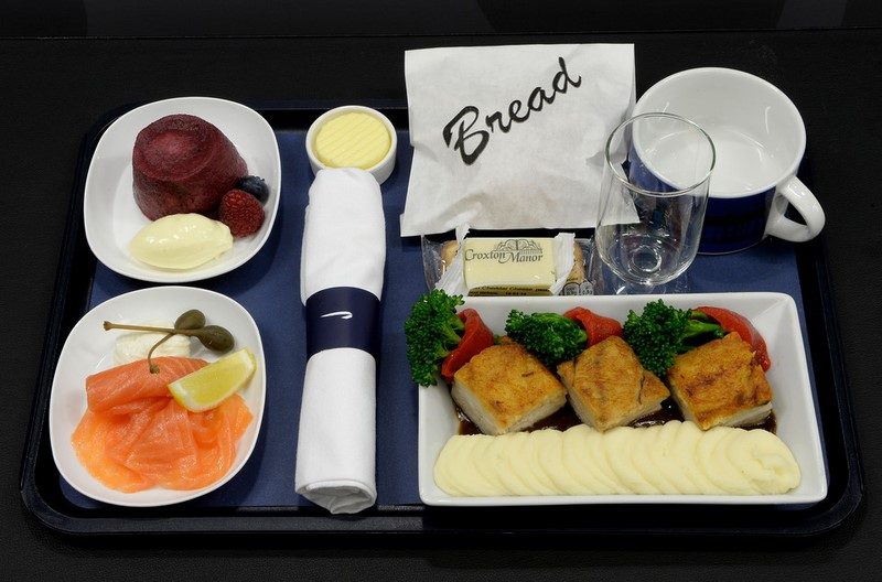 British Airways food and drinks