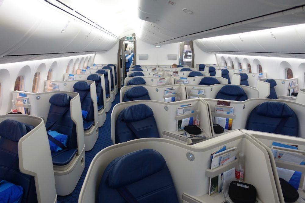 Xiamen Airlines travel classes
