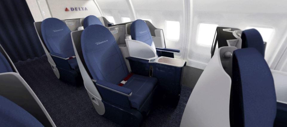 Delta Air Lines travel classes