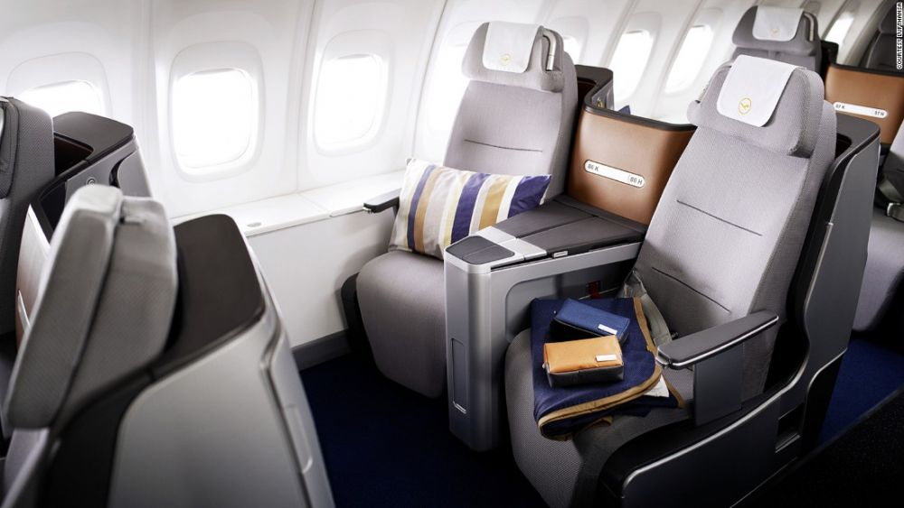Lufthansa travel classes