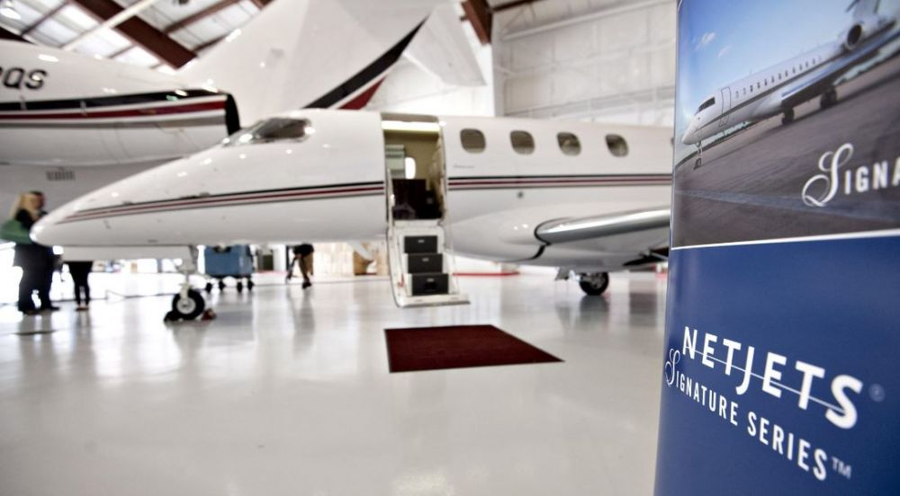 NetJets aircraft