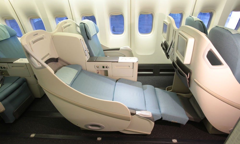 Korean Air travel classes