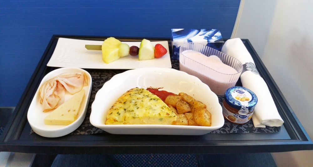 KLM food and drinks