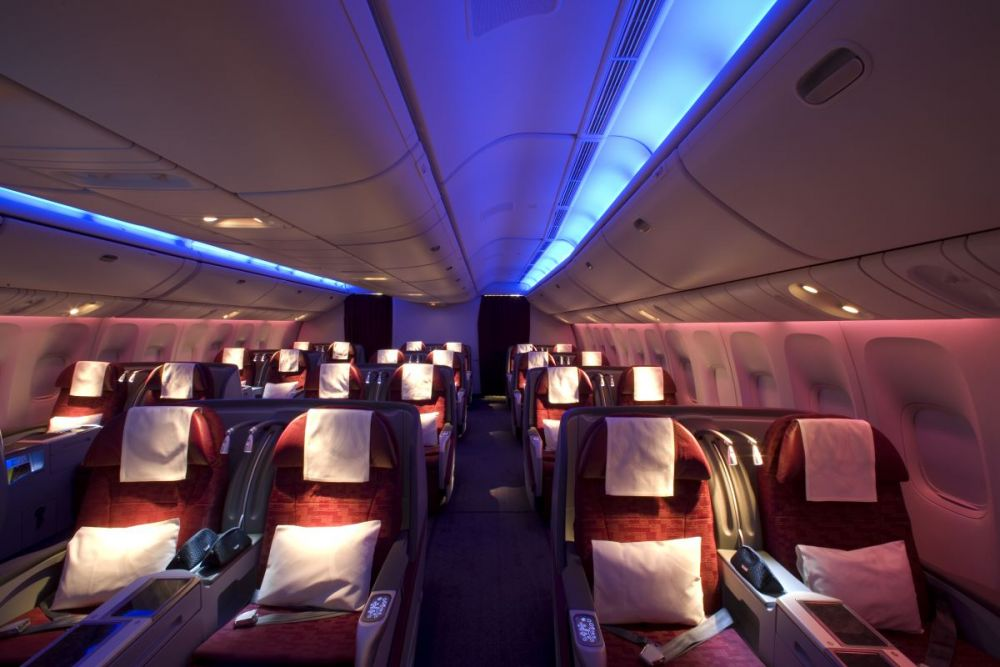 Qatar Airways travel classes