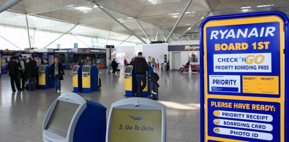 Ryanair boarding process