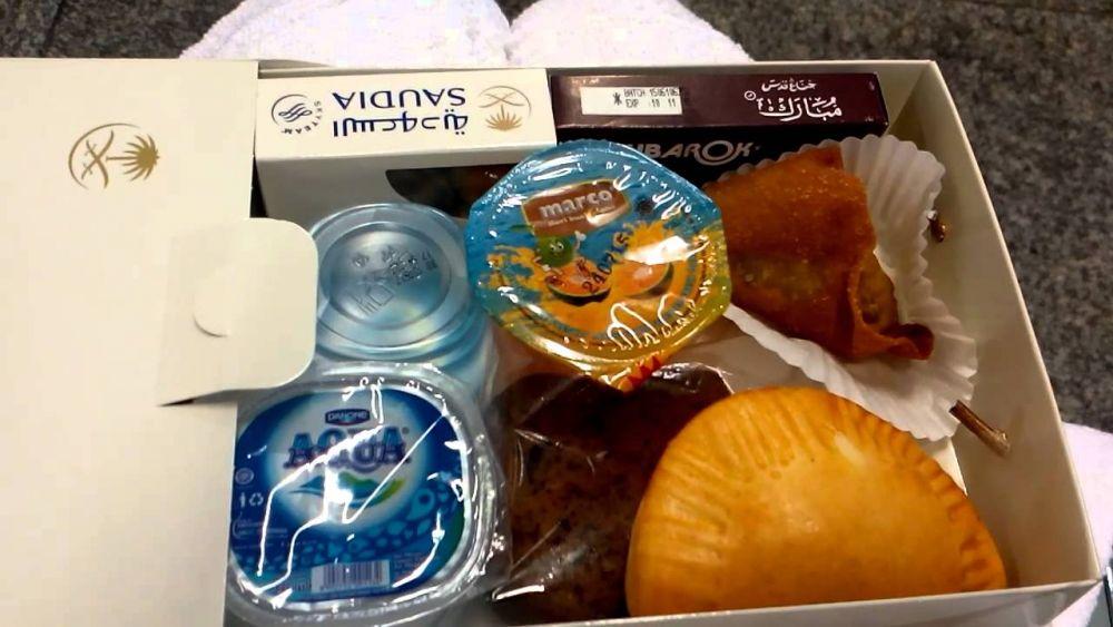 Saudia food and drinks