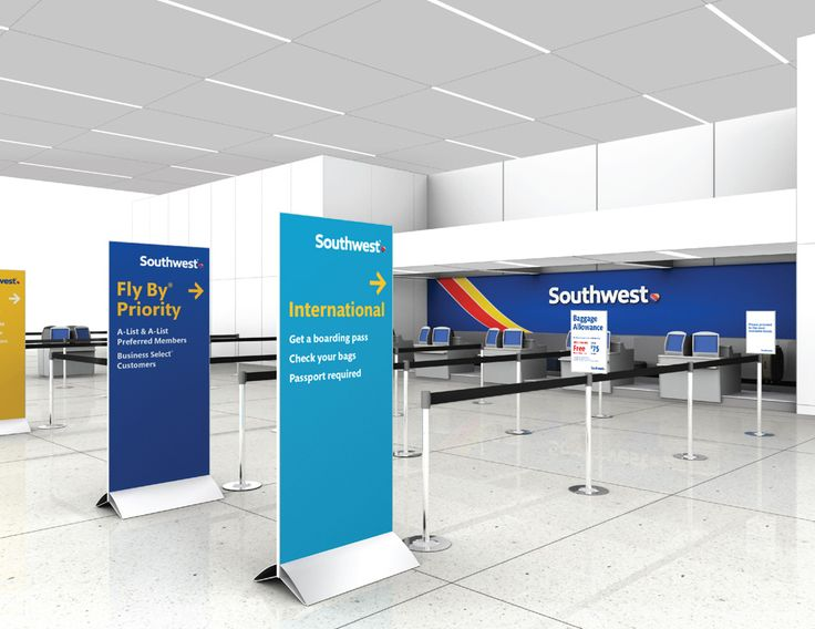 Southwest Airlines boarding