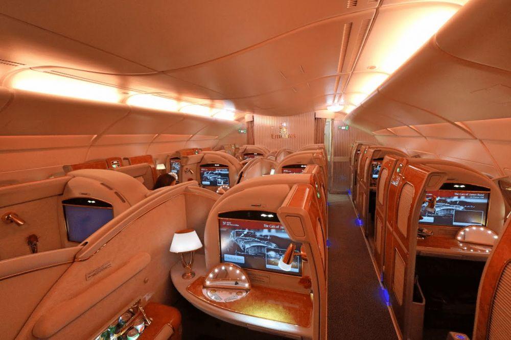 Emirates travel classes