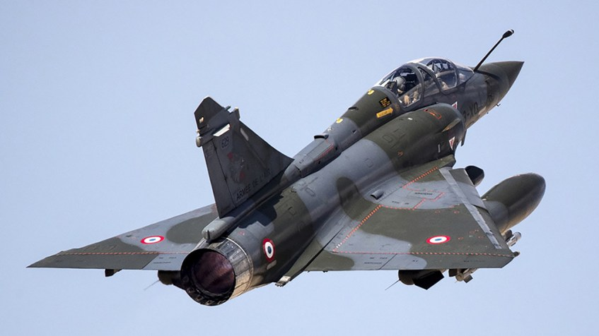 French Mirage 2000D disappears from radar