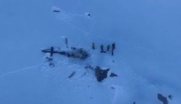 Tourist Aircraft Collides with Helicopter in Alps