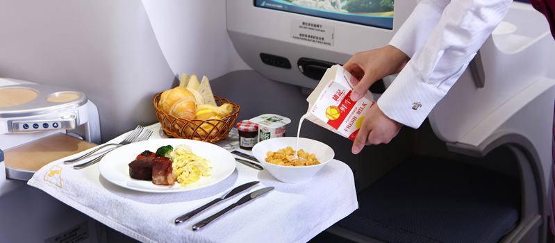 China Southern Airlines Food and Drinks