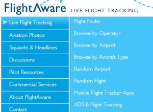 FlightAware Advanced Search Filter