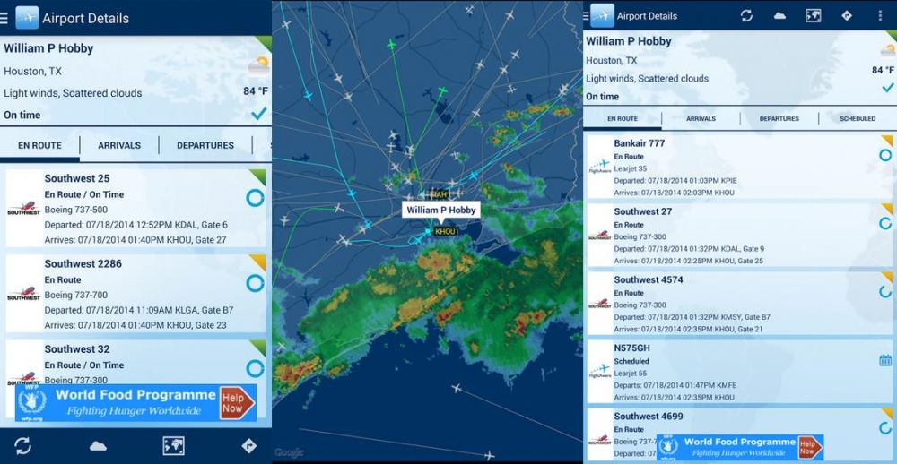 FlightAware Mobile Application