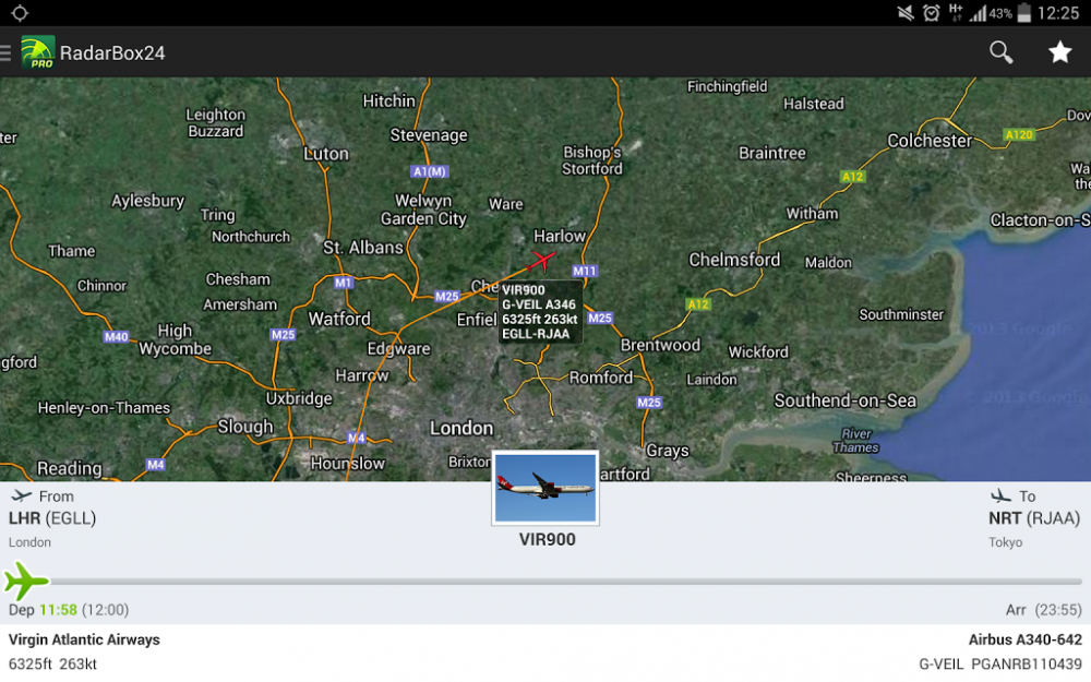 RadarBox24 Free Flight Tracker for Android