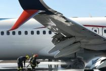 Fault Registered During Landing of Aeromexico Aircraft