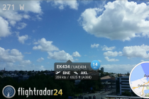 FlightRadar 24 PRO for iPhone and iPad devices