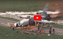 VIDEO: Plane Torn Apart in Greenville Downtown Airport Crash