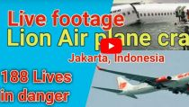 VIDEO: Lion Air Boeing 737 Plane Crashes into Sea